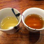 96216562 - 軍鶏のコラーゲンスープ&麦茶