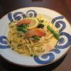鎌倉パスタ - 料理写真:サーモンマリネのレモンクリームフィットチーネ