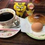 喫茶スター - モーニングサービス350円(税込)