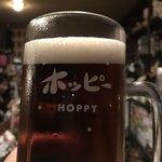 ホッピー仙人 - 黒と白のハーフ&ハーフ