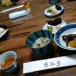 山菜川魚料理 湯谷亭 - 先付け