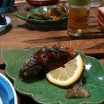 山菜川魚料理 湯谷亭 - 冷めても美味しい岩魚の唐揚げ