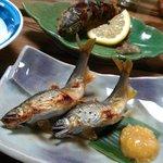 山菜川魚料理 湯谷亭 - 落鮎