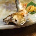 山菜川魚料理 湯谷亭 - たまごギッシリ
