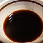 うさぎ庵 - 温かいつけ汁