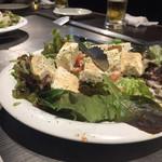 96231249 - コース料理サラダ
