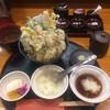 宝 - 料理写真:牡蛎天丼