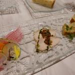 レジーナ イタリアーナ - 前菜三種盛り合わせ