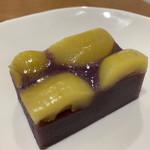 麻布野菜菓子 - 紫芋の栗羊羹