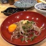 初芳鮨 - 白魚刺身