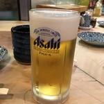 初芳鮨 - 生ビール