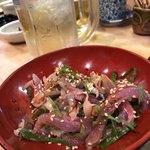 初芳鮨 - 秋刀魚叩き