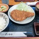 とんかつ まさむね - ■ロースかつ定食 1380円