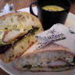 Jiyugaoka BAKE SHOP - 本日のサンドイッチwithスープ