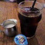 Jiyugaoka BAKE SHOP - ランチはドリンク付き。アイスコーヒーで。