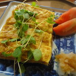9624719 - 玉子焼き(鴨肉味噌入り)