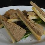 ミサキ イタリアーノ ボッカ - 料理写真:地鶏レバーパテ