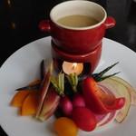 ミサキ イタリアーノ ボッカ - 旬の三浦野菜のバーニャカウダー