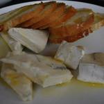 ミサキ イタリアーノ ボッカ - フレッシュチーズの盛り合せ