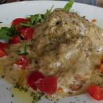 ミサキ イタリアーノ ボッカ - 仔牛スネ肉のフリカッセ、しいたけクリーム煮