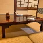 うなぎ花菱 - お座敷席
