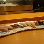 江戸一 - 料理写真:にぎり(特上)