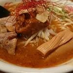 室壱羅麺 - 見た目辛そうなのだが。