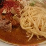 室壱羅麺 - 麺はこんな感じ。