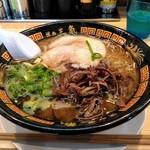 博多三氣 - 負けん氣ラーメン 650円