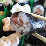 九州すし市場 - 海苔美味しいです  鉄火!