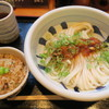 江戸堀 木田 讃岐うどん - 料理写真:生じょうゆ定食