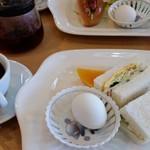 ポプラ - 料理写真:モーニング 380円(税込)