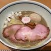 中華そば 堀川 - 料理写真:【(限定) 濃厚煮干しそば + 味付けたまご】¥850 + ¥100