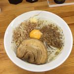 麺屋ガテン - MAZEそば780円税込です。