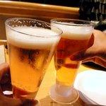 9626124 - まずはビールで乾杯!