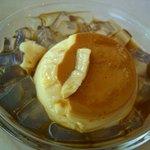 カスタードショップ ウオコー - 黒蜜かんてんプリン