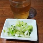 きさらぎ亭 - お茶と浅漬け