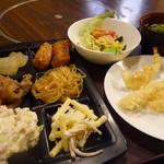 希望荘 菰野茶屋 - 料理写真:野菜中心に