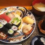 玄海鮨 - 「海」ランチ  セット これにデザートが付きます