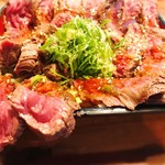 梅田肉料理 きゅうろく - 数量限定のランチメニュー。
