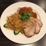 點點心 - 三種冷菜の盛合せ タレのお肉が超美味しい