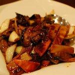 台湾料理 王家 - 料理写真:茄子の味噌炒め