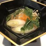 味亭 山崎屋 - ・小鍋立           鴨鍋
