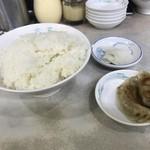 元祖中華つけ麺大王 - 定食のセット