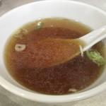 元祖中華つけ麺大王 - スープ