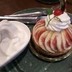 西洋菓子&カフェ シャンティーヒラノ - 料理写真:いちじくのタルト