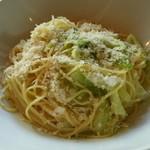 エノテカ・リオーネ - キャベツとアンチョビのスパゲティ