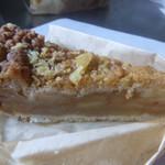 はちすずめ菓子店 - シナノゴールドのアップルパイ