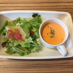 ピッツェリア ナオ - 前菜 サラダとスープ