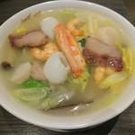 96278725 - 海の幸と野菜の五目麺